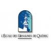 L'ECOLE DES URSULINES DE QUEBEC